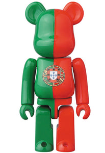 100% BE@RBRICK Portugal Flag (Series 34)