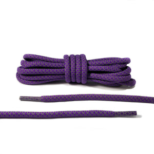 Purple 3M Reflective Rope Laces