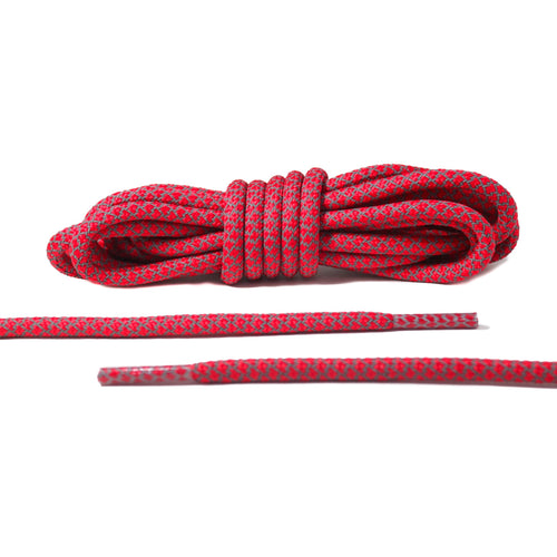 Red 3M Reflective Rope Laces
