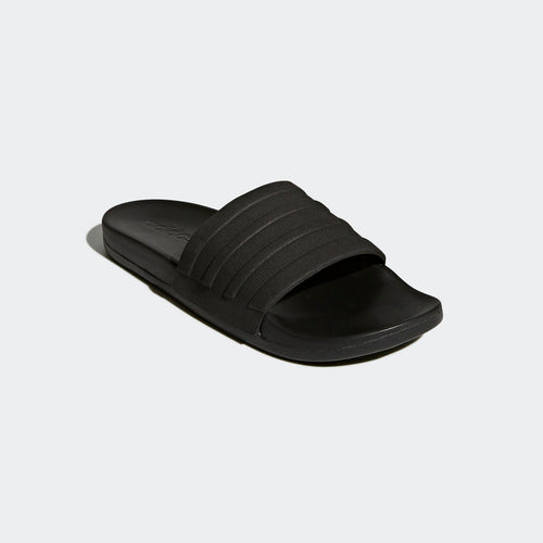 Adilette Comfort Cloudfoam Plus Monotone Slides (Triple Black)