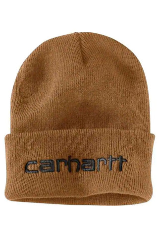(PRE ORDER)Carhartt Teller Hat Embroidered Logo (Carhartt Brown)(NO CASH ON DELIVERY - ALL ORDERS MUST BE PAID FULL IN ADVANCE)