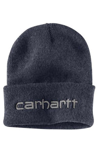 Carhartt Teller Hat Embroidered Logo (Coal Heather)