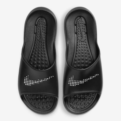 Men's Nike Victori One Shower Slides (Black/White)(CZ5478-001)