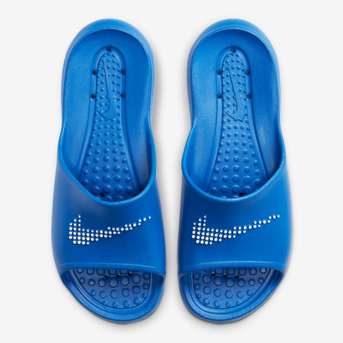 Men's Nike Victori One Shower Slides (Game Royal/White)(CZ5478-401)