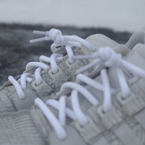 White Rope Laces