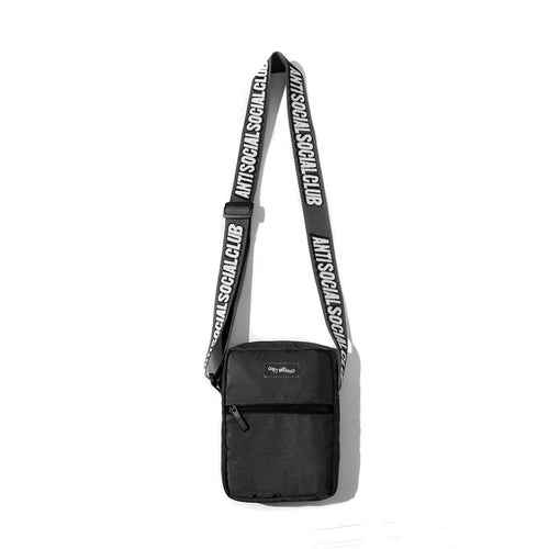 ASSC Black Side Bag (PRE ORDER ESTIMATED ARRIVAL OCTOBER OR NOVEMBER)(NO CASH ON DELIVERY)