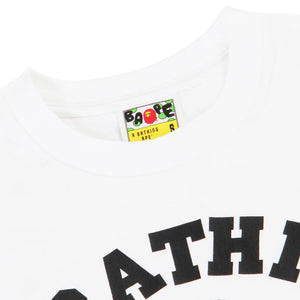 A Bathing Ape - BAPE - 1st Camo College Tee (White/Yellow Camo)