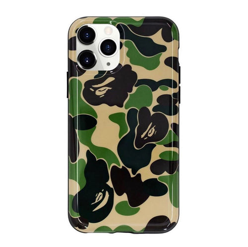 BAPE ABC Camo iPhone 11 Pro Case (Yellow)
