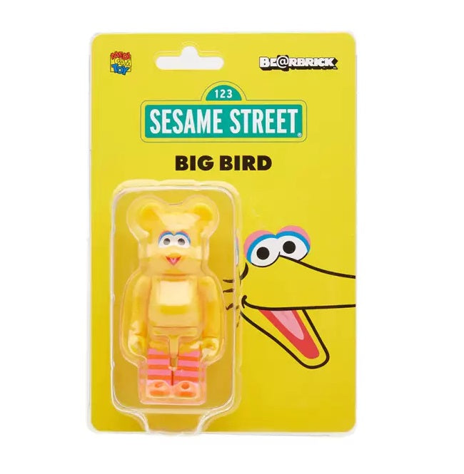 100% BE@RBRICK Big Bird (Sesame Street)