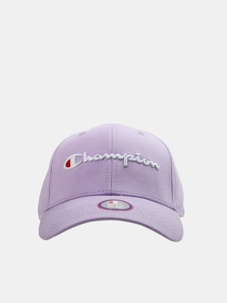 Champion Classic Twill Strapback Dad Hat (Violet Rose)