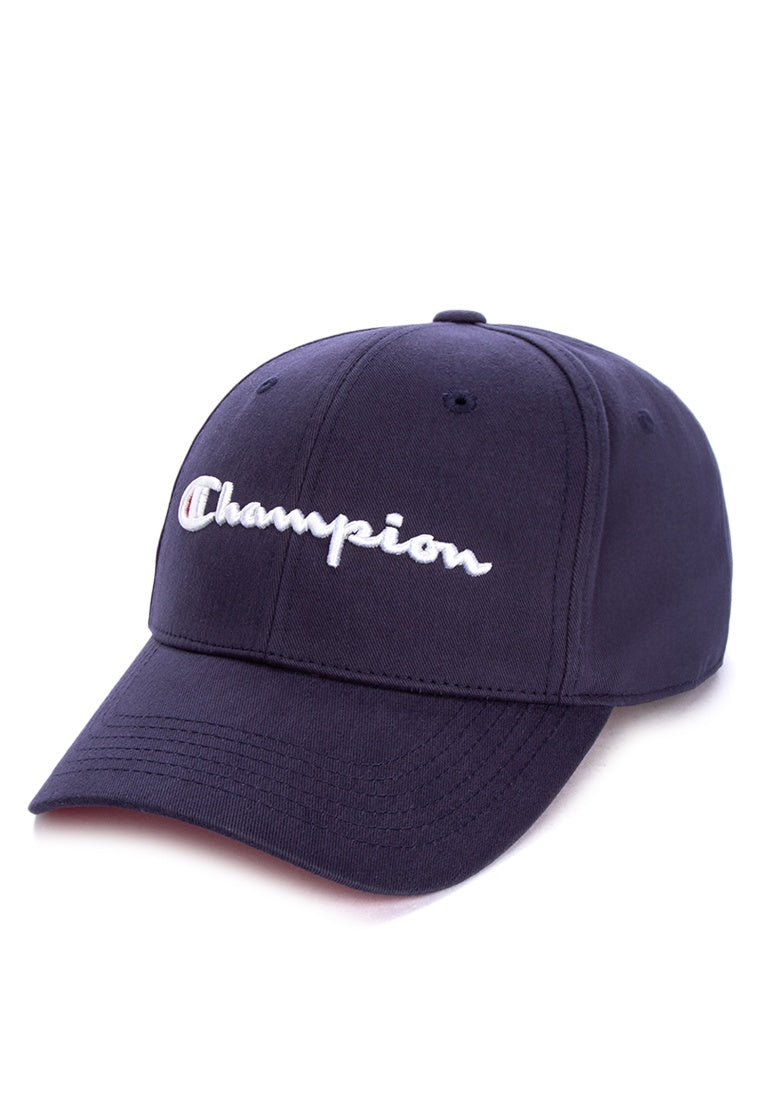 Champion Classic Twill Strapback Dad Hat (Navy)