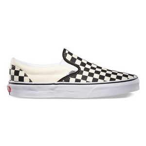 VANS Classic Slip-On Checkerboard (Black & White)