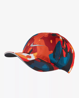 Nike Featherlight Camo Cap (Orange)