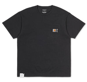 Carhartt WIP x FPAR Pocket Tee (Black)(Relaxed Fit)