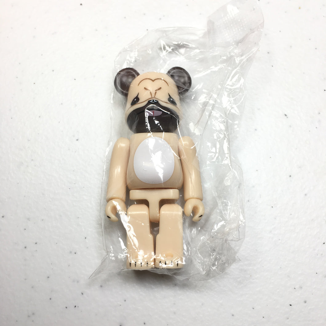 100% BE@RBRICK Pug Dog (Secret Bearbrick 1/192) (Series 34)