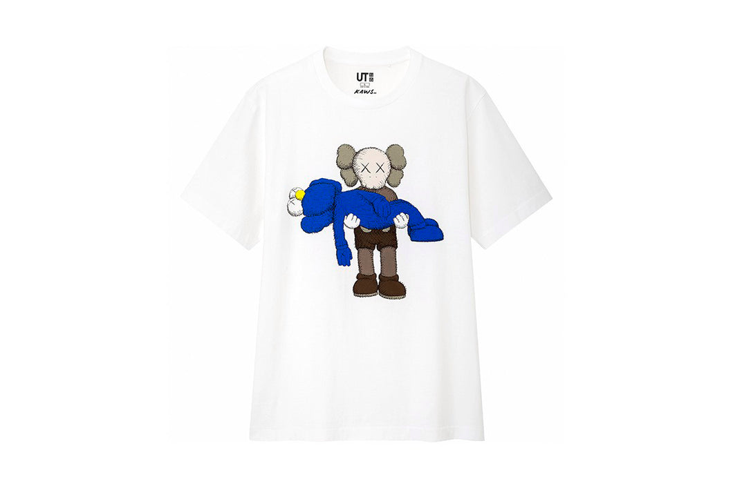 KAWS x Uniqlo Gone Tee (White)