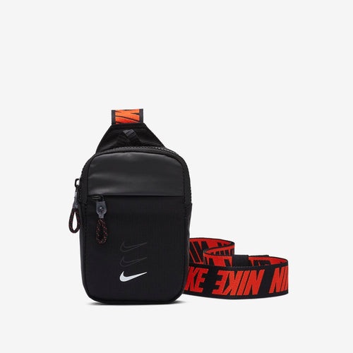 Nike Essentials Small Hip Pack (Black/White/Orange)(BA5904-010)