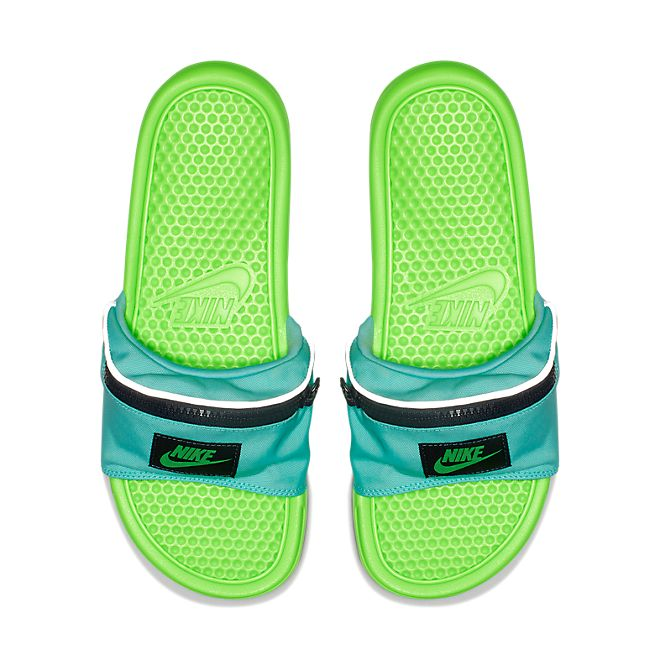 Nike Benassi Just Do It Fanny Pack (Aurora Green)(Limited Edition)