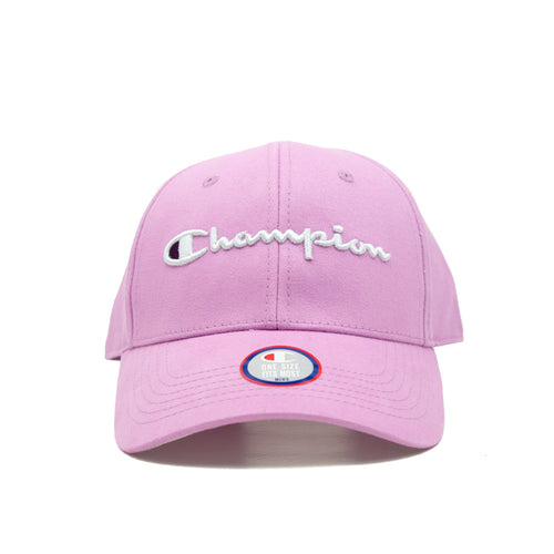 Champion Classic Twill Hat Leather Strap back (Paper Orchid)