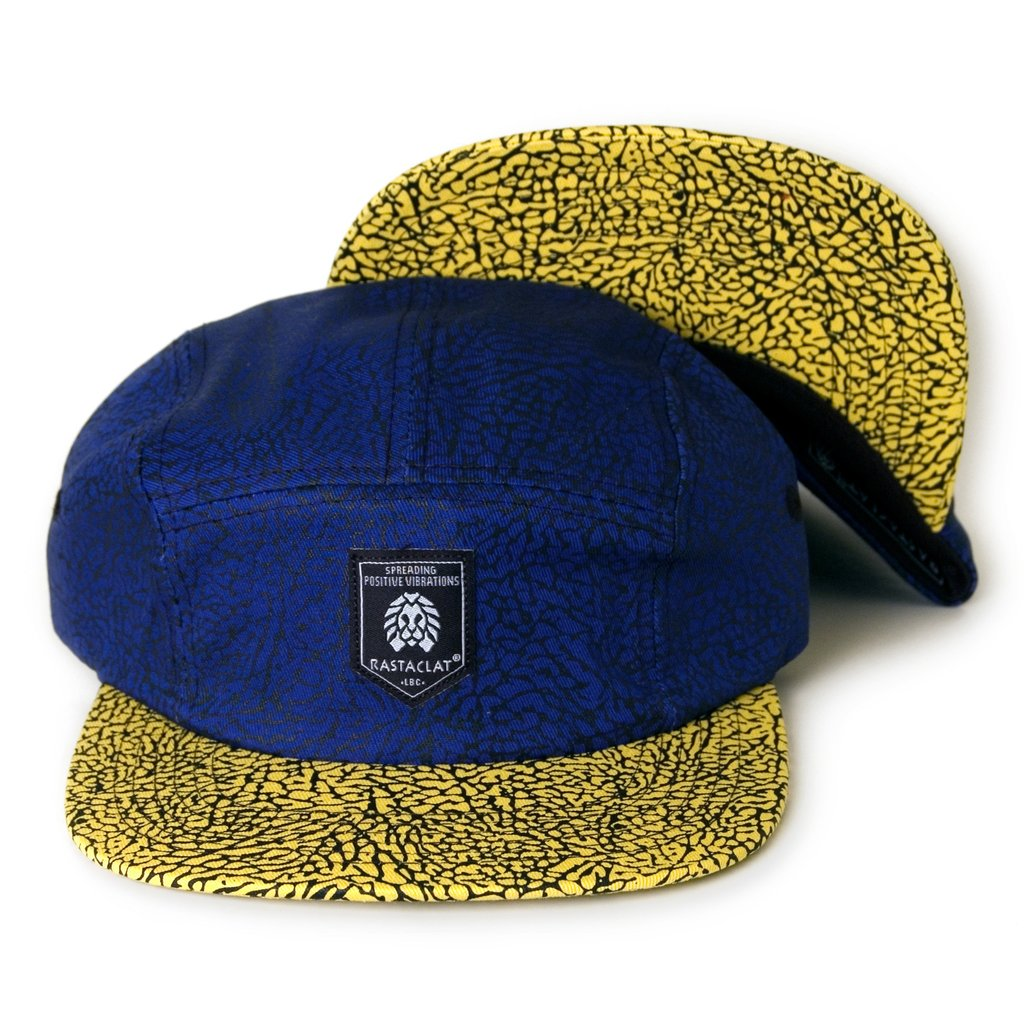 Rastaclat Six Panel Blue Asphalt Cap
