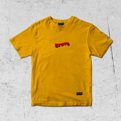 "Grove ""SMILEY EGG"" Tee (Oversized)"