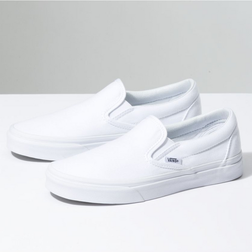 Vans Classic Slip-on (Triple White)