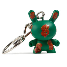 Kidrobot x Andy Warhol: Blind box 1.5-inch Dunny Keychain Series