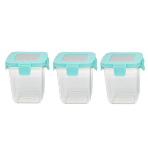 Marcus & Marcus Tritan Air Tight Container - 8oz x 3pcs