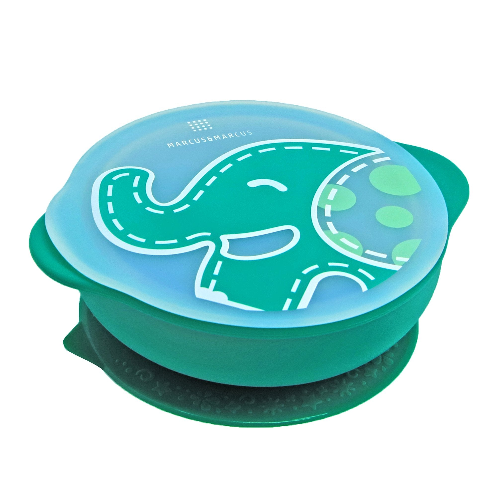 Marcus & Marcus Suction Bowl with Lid - Ollie