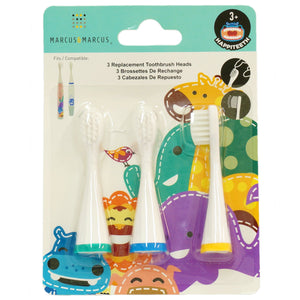Marcus & Marcus Replacement Toothbrush Heads (Ollie, Lucas, Lola)