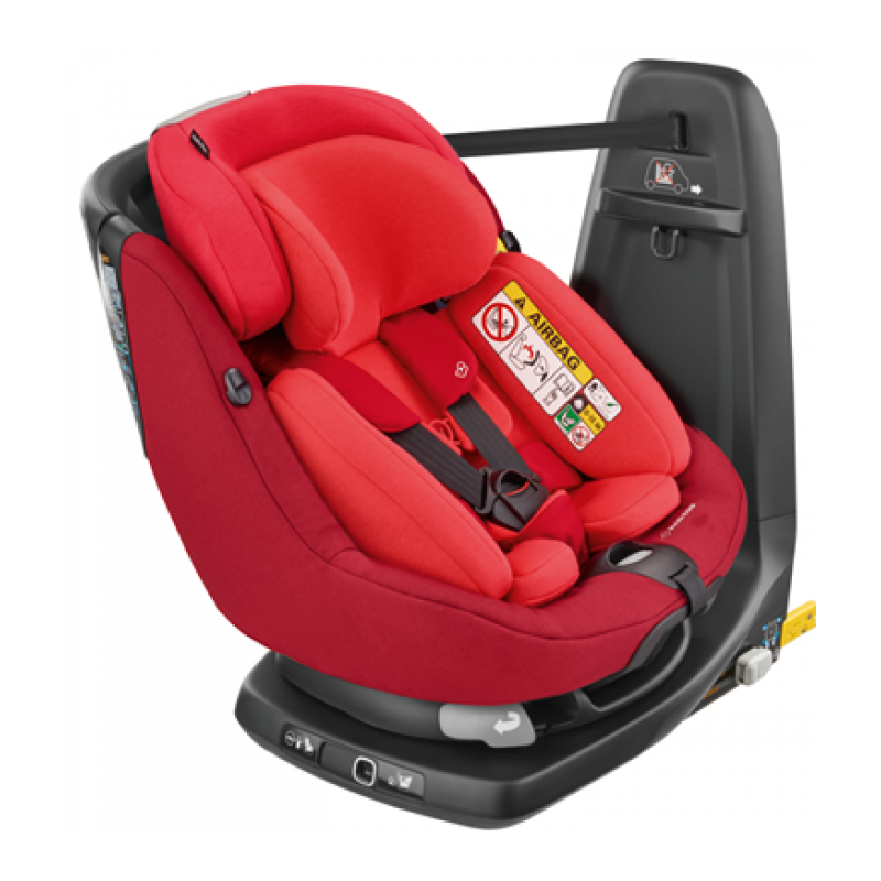Maxi Cosi (20/38) AxissFix Plus Baby Car Seat - Vivid Red