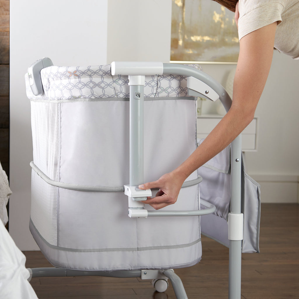Ingenuity BS10197 (10/30) Bassinet Dream and Grow Bedside Bassinet - Dalton