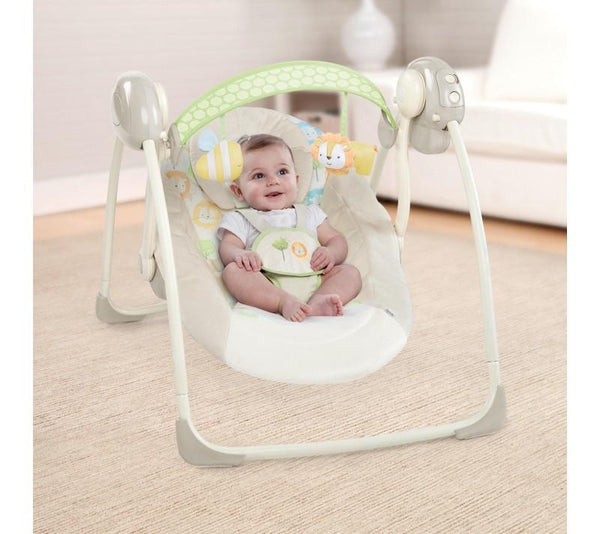 Soothe 'N Delight Portable Swing - Sunny Snuggle_2