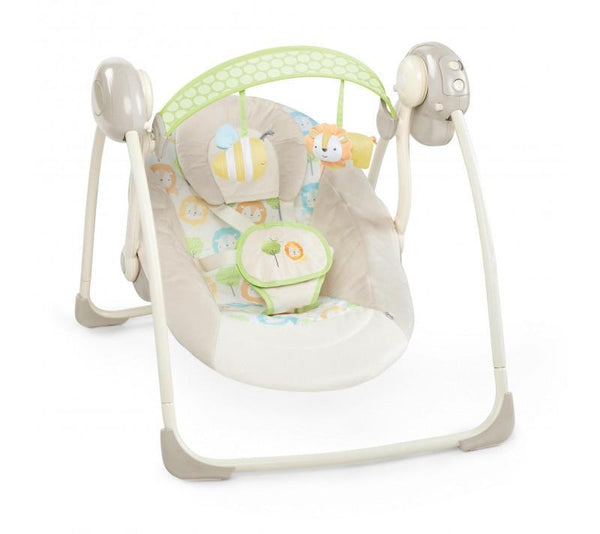 Soothe 'N Delight Portable Swing - Sunny Snuggle_1
