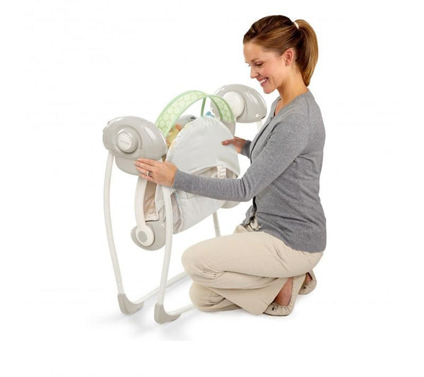 Soothe 'N Delight Portable Swing - Sunny Snuggle_4
