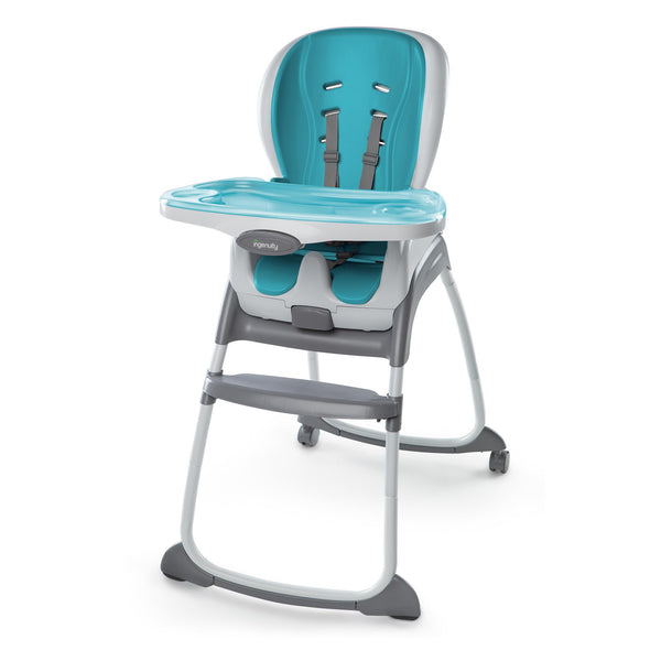 Ingenuity High Chair Trio 3-in-1 SmartClean High Chair - Aqua BS10515 - Picket&Rail