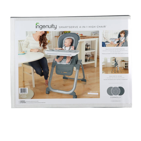 Ingenuity High Chair SmartServe 4-in-1 High Chair - Connolly BS10617 P