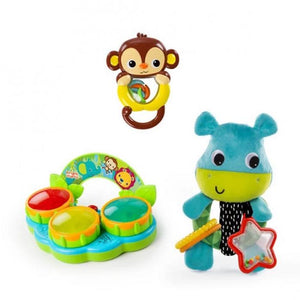 Bright Starts BS11496 (30/45) Jammin' Jungle Gift Set