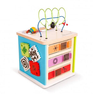 Baby Einstein BE11656 (30/45) Hape Innovation Station Activity Cube