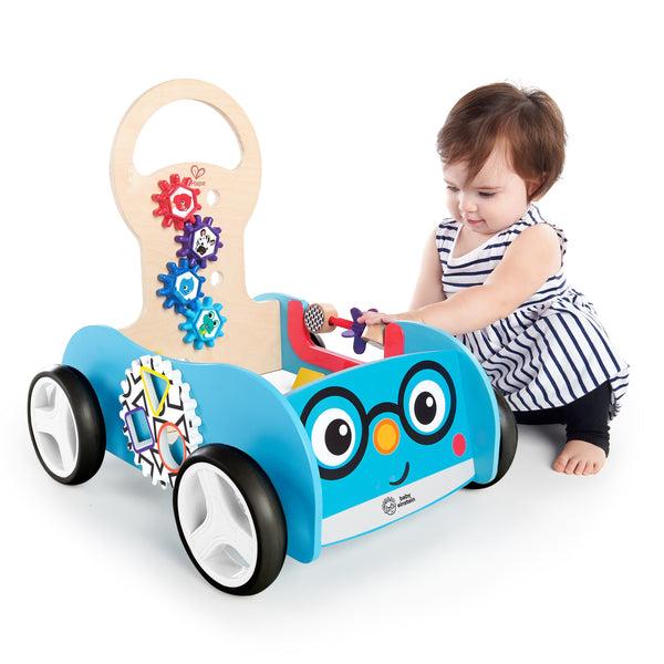 Baby Einstein Discovery Buggy Wooden Activity Walker & Wagon BE11875 P