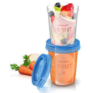 Philips Avent Food Storage Cups (5 x 240ml)