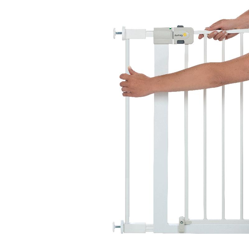 Safety 1st Easy Close Metal Gate Extension 7cm - White SFE2428-4310
