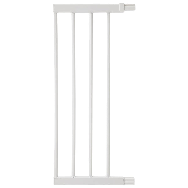 Safety 1st Easy Close Security Gate Extension 28cm - White Metal  SFE2430-4310