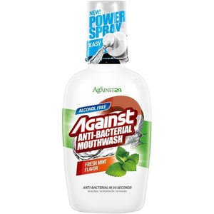 Against24 Antibacterial Mouthwash (Fresh Mint)
