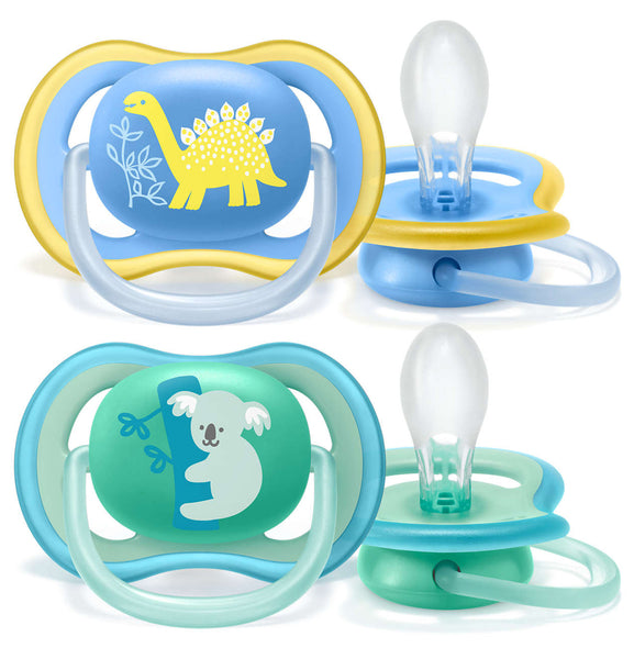 Philips Avent Ultra Air Pacifier (Twin Pack) Mix Deco