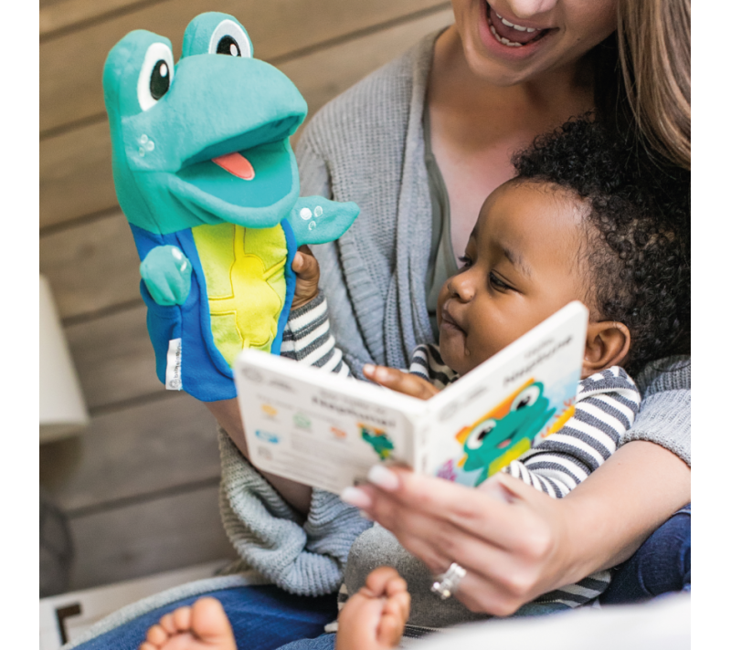 Baby Einstein BE11734 (30/45) Storytime with Neptune Puppet & Book