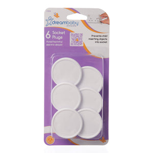 Dreambaby Outlet Plugs 6pk DB10244 - Picket&Rail