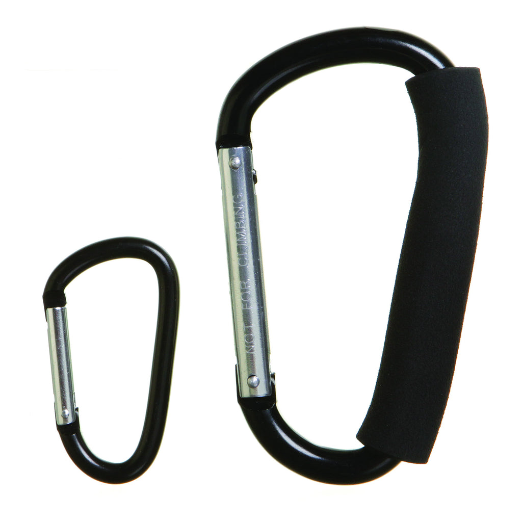 Dreambaby DB00260 (30) Stroller Hook Carabiner 2pk Large & Small