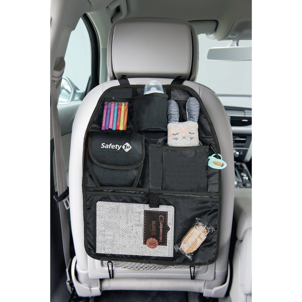 Safety 1st Back Seat Organizer - Black SFE3311-0276 - NEW