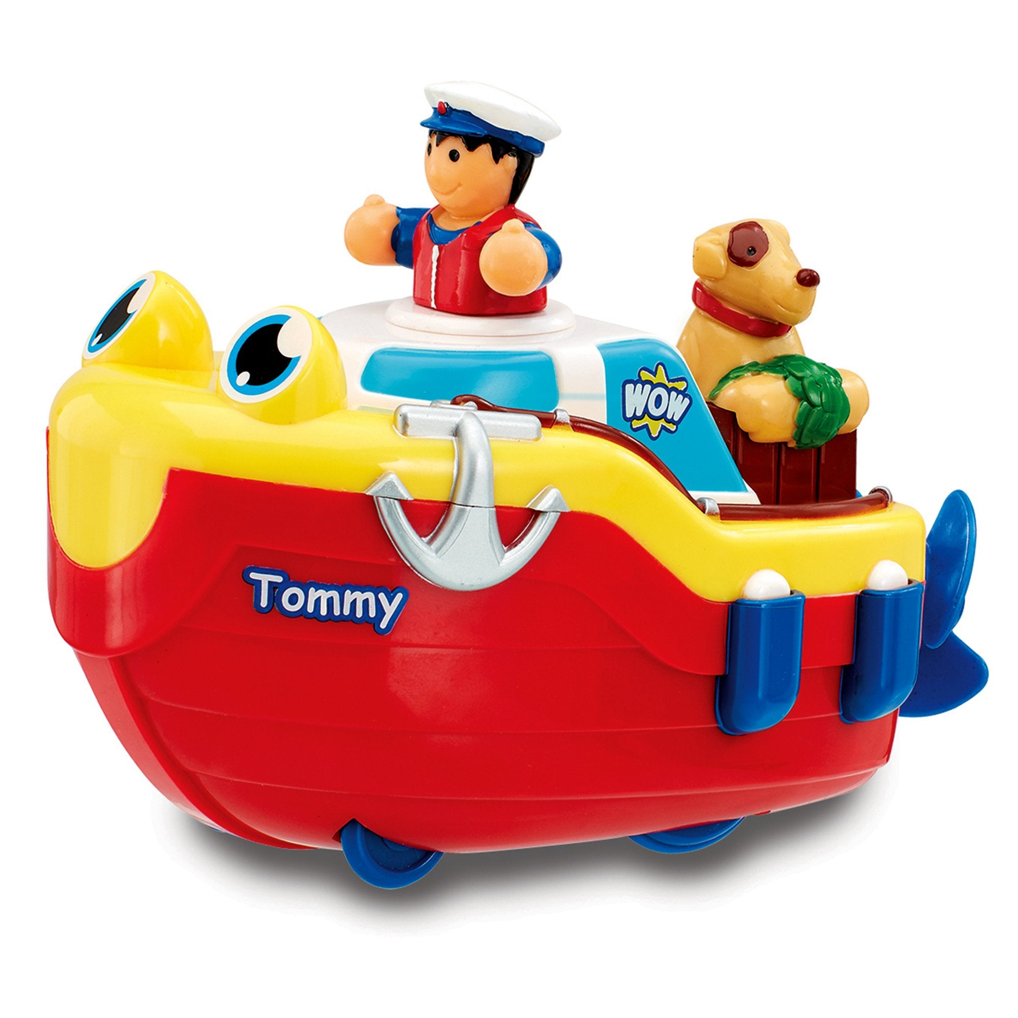 WOW Toys Tommy Tug Boat (Bath Toy)